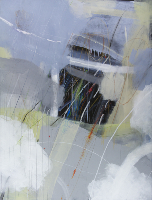 Abstract Painting By SF Artist Ellen Levine Dodd