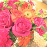 Sunday Bouquet: The Brightest Pink & Orange Blooms