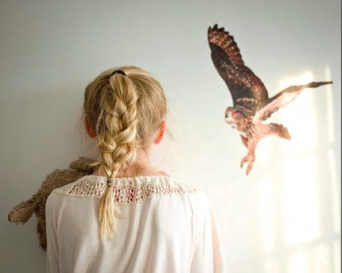 Portland Maine Photographer Winky Lewis Girl And Bird