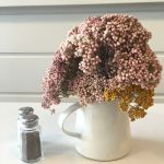 Sunday Bouquet: Tiny Clusters in a Pitcher