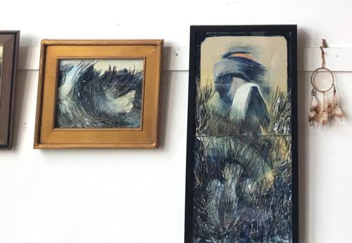 Studio Visit With Boston Artist Laura Allis-Richardson