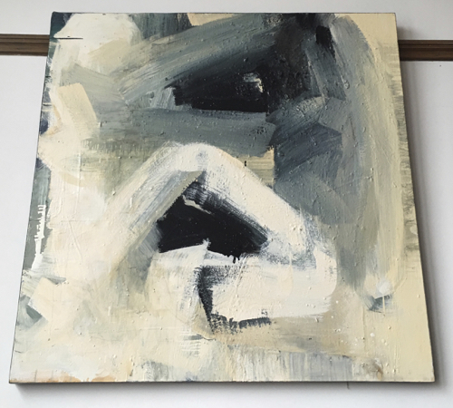Abstract Painting By Boston Artist Laura Allis-Richardson