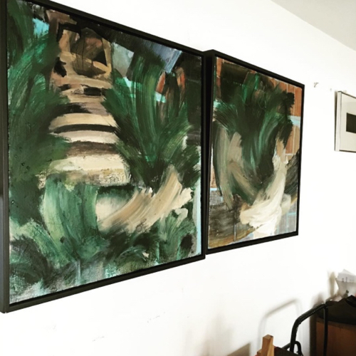 Abstract Paintings By Boston Artist Laura Allis Richardson