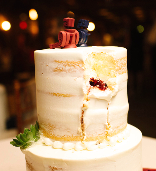 Naked Wedding Cake Boston
