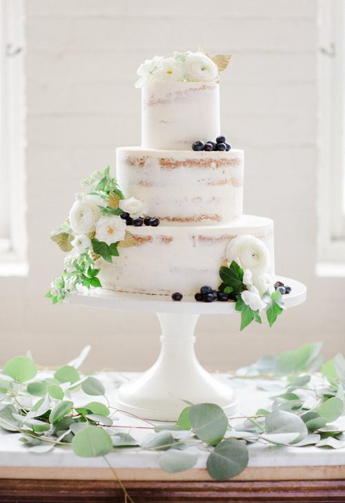Naked Wedding Cake Mayflour Confections Boston