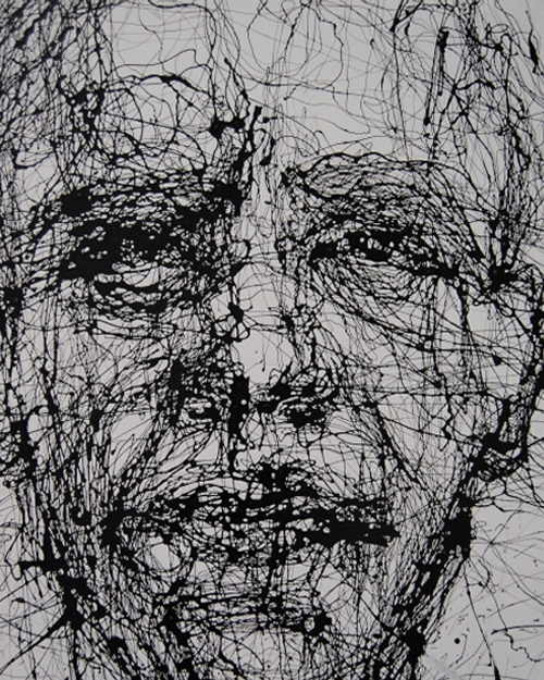 Scribbled Drawing Of Obama From Rise Art