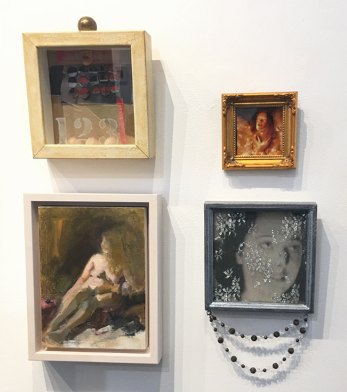 Miniatures Exhibit at Cambridge Art Association By Marni Katz