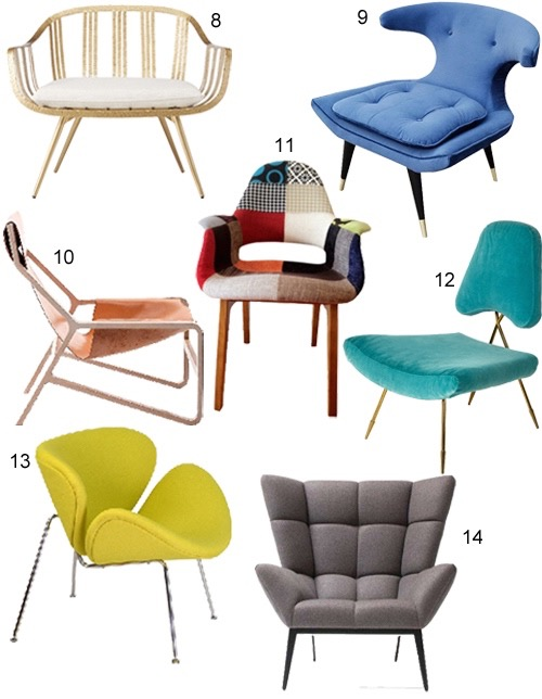 Get The Look 25 Modern Lounge Chairs Stylecarrot