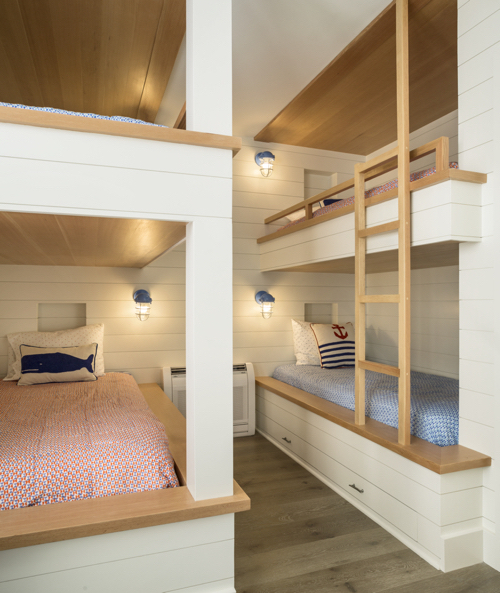 Bunk Room In Beach House Kennebunkport Maine