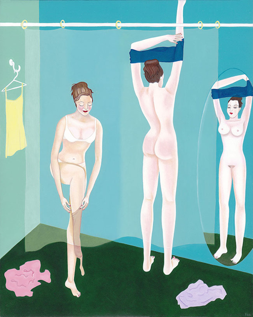 Center for Maine Contemporary Art Nude Portrait Maine Artists