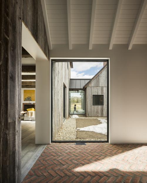 Canadian Contemporary Architecture Modern Farmhouse Near Montreal