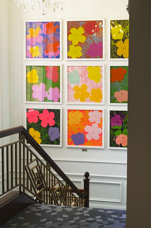 Flowers By Andy Warhol In Bermuda