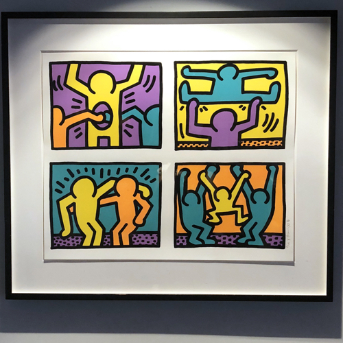 Keith Haring Pop Art Lithograph