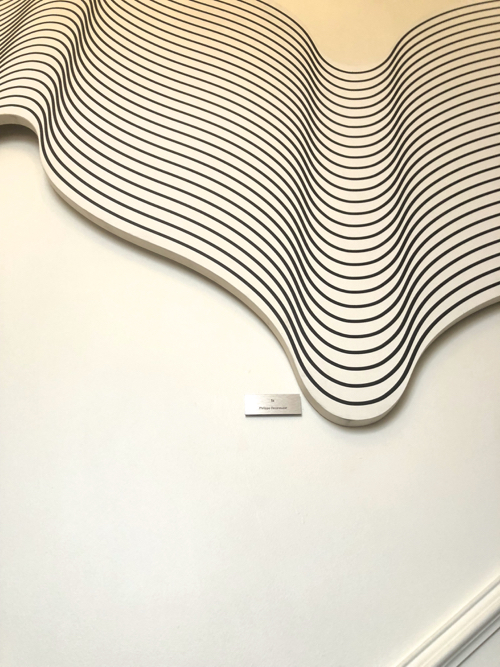 Op Art Wall Sculpture