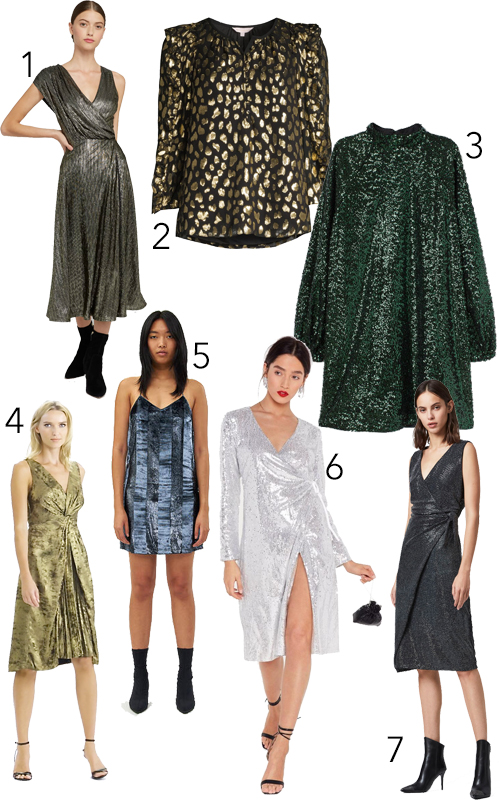 Sparkly Glitter Sequin Dresses