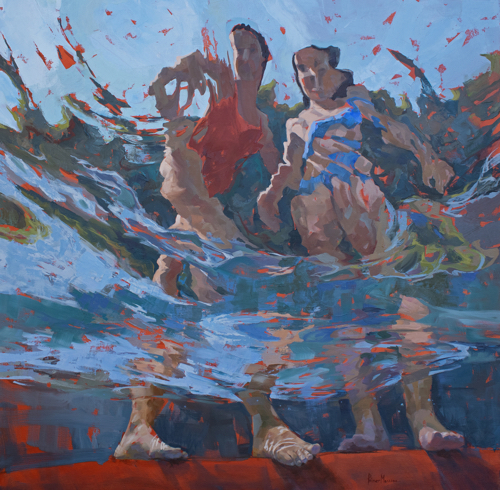 Underwater Paintings By Michele Poirier Mozzone