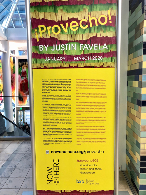 Boston Art Installation By Justin Favela Now + There