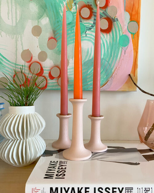 Hawkins New York Blush Candleholder