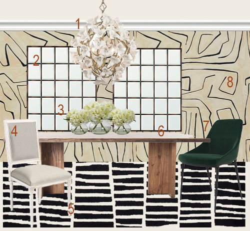 Kelly Wearstler's Graffito Wallpaper