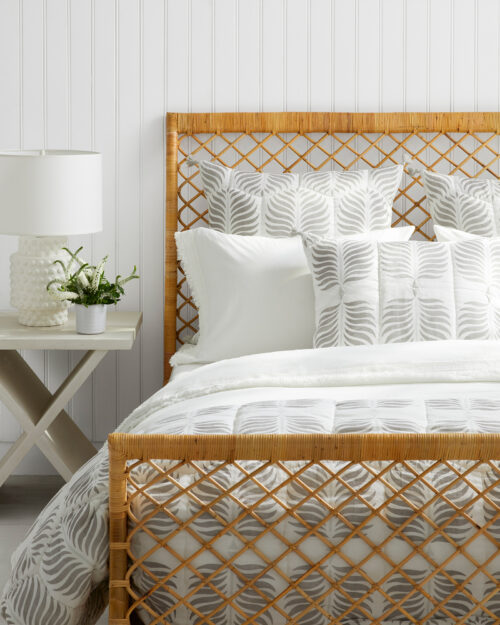 Serena & Lily Bohemian Rattan Bed