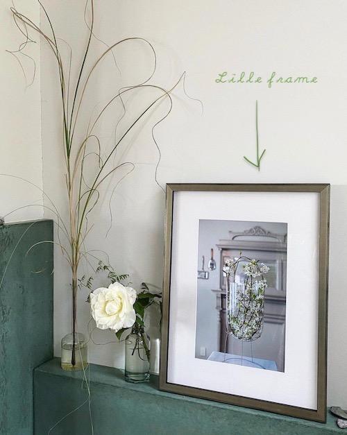 Framebridge Lille Frame Over Fireplace