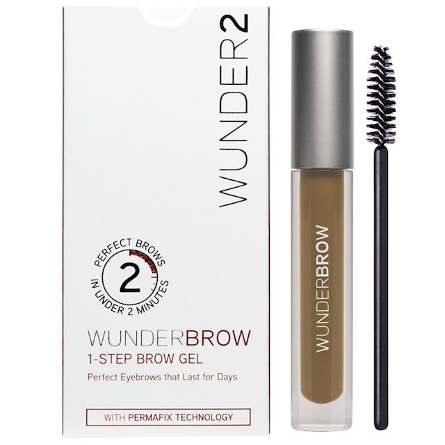 brow gel wunderbrow These Stronghold Eyebrow Gels Are the Secret to Brows on Fleek