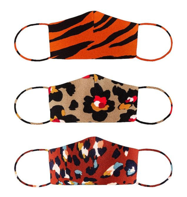 STYLECASTER | Best Cloth Face Masks Online | animal print masks