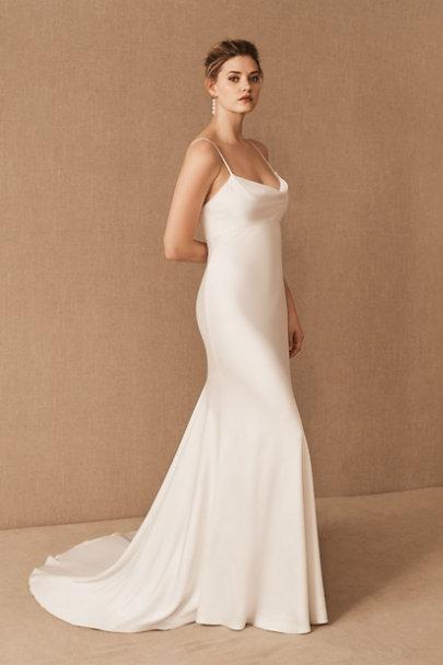 STYLECASTER | wedding dress trends 2021 | slip dress