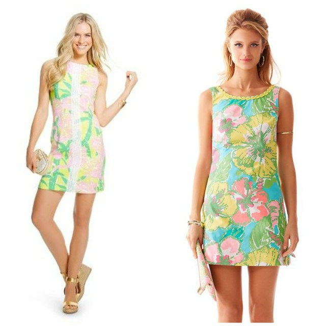 Lilly for Target Fan Dance Shift Dress