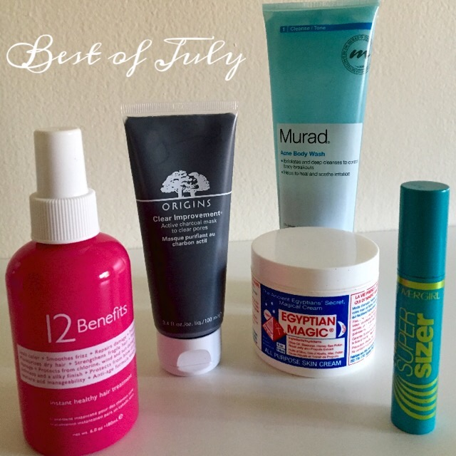 best of july beauty products