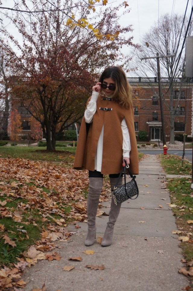 Fall trend: over the knee boots, capes