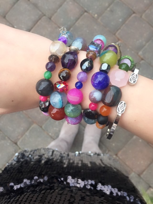 bauble bracelets by elyse ryan