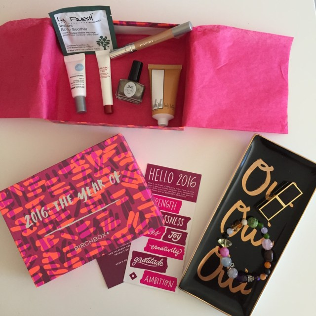 january birchbox recap