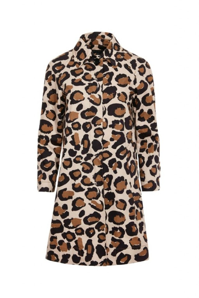 leopard print coat marc jacobs