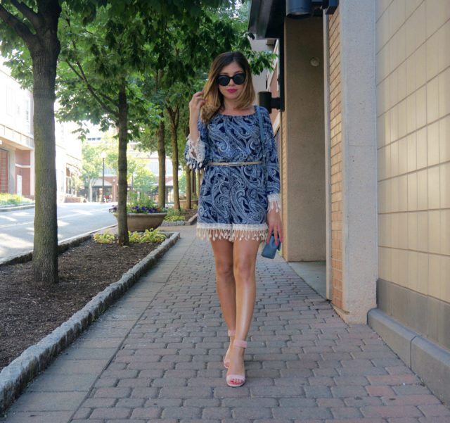 How to wear a romper in your twenties
