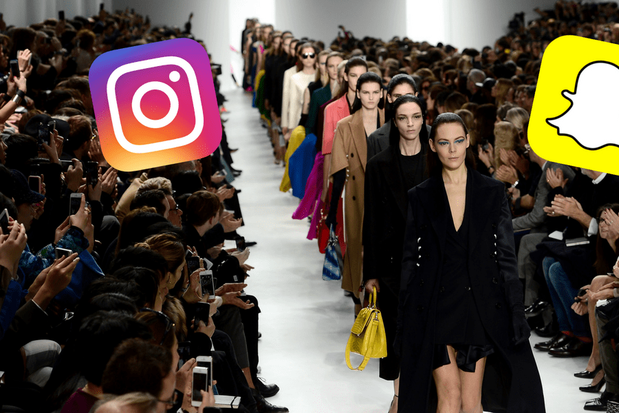 Snapchat vs. Instagram Stories: Which will dominate fashion month?