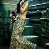 Lehenga Amazing  Style Saree 2012