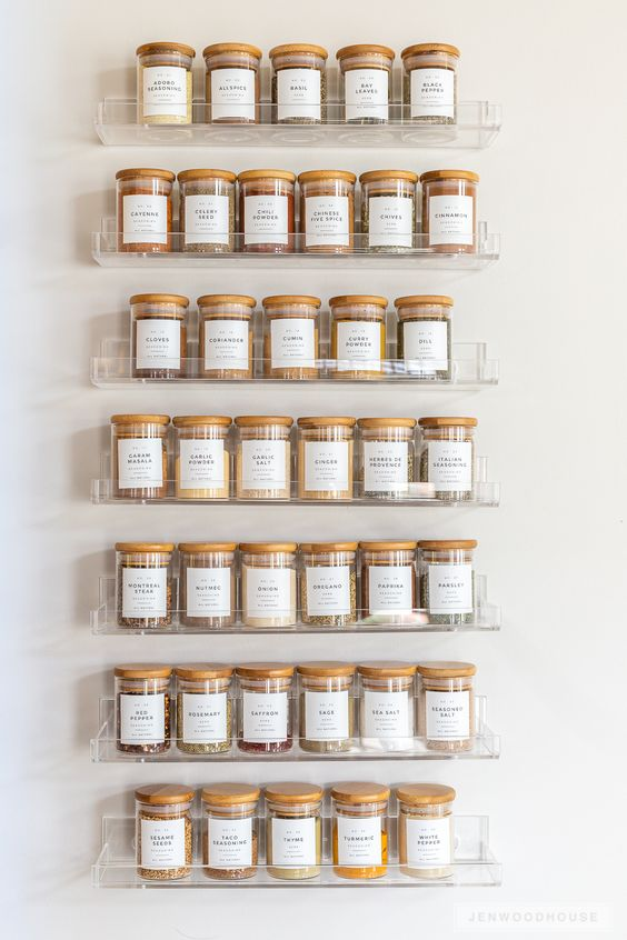 store your spice collection