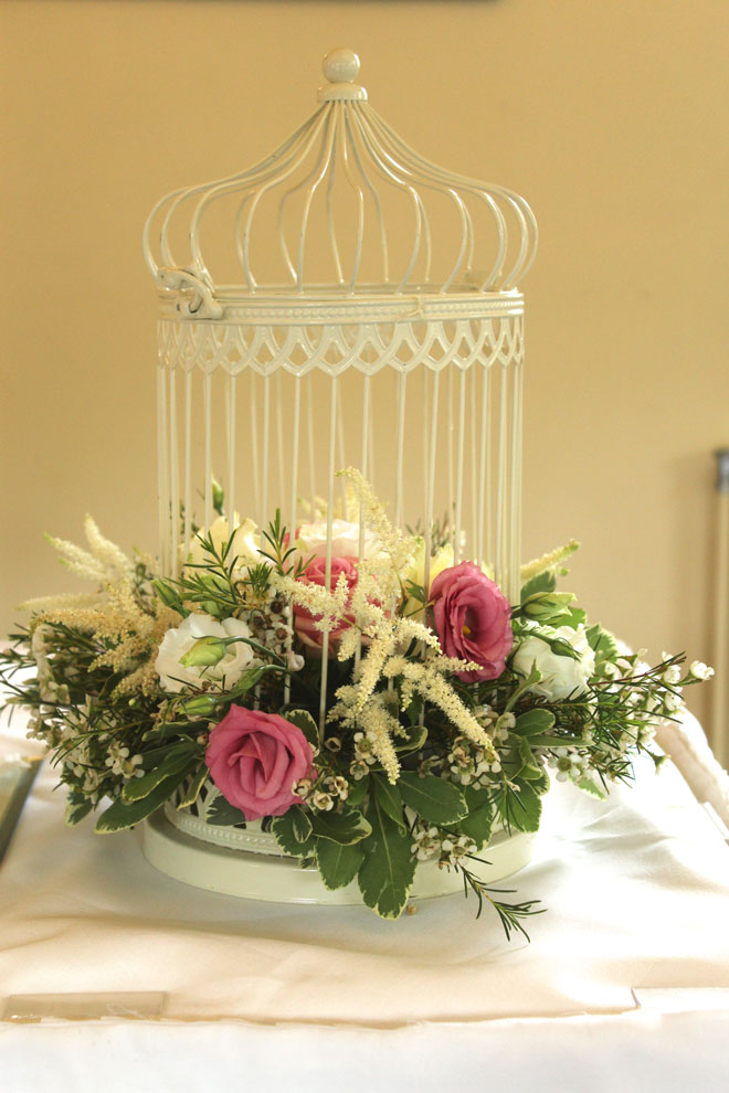 Fresh Flowers And Wedding Table Centres In The North