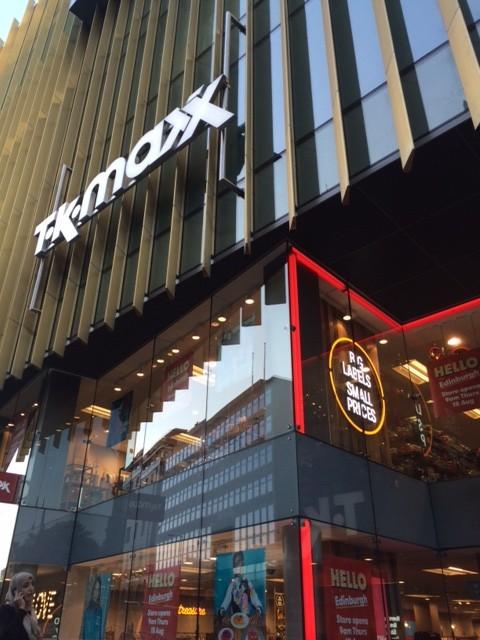 TK Maxx Edinburgh: A sneak peak inside the new store