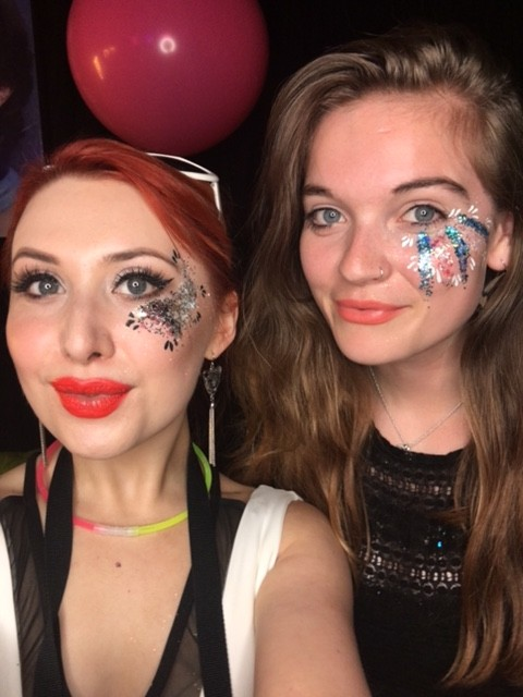 YouTube neon UV Pride Party – behind the scenes (VIDEO)