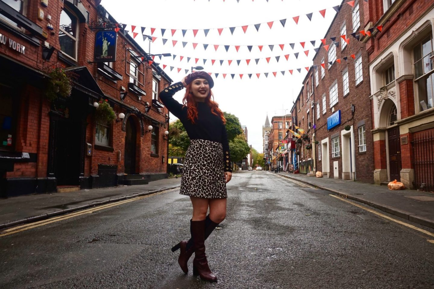 Boots and berets: exploring Manchester street style