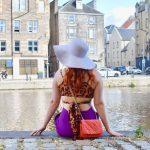 Twenty-Something City colourful summer fashion at The Shore Leith