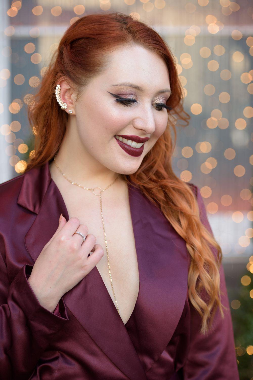 Scottish blogger Twenty-Something City Christmas make-up inspiration