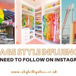 Instagram colourful vintage style influencers featuring posts by sunsetsaraid omg.sam and afashionnerd