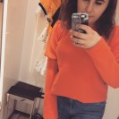 Zara Bright Orange Jumper