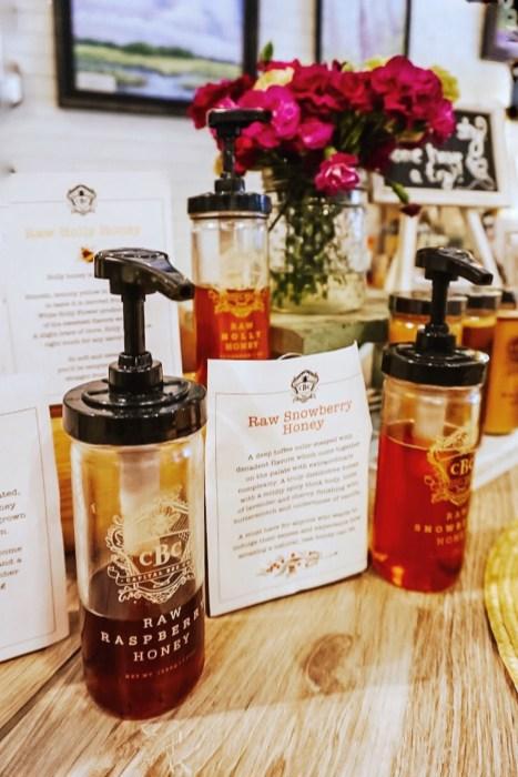 Honey Tasting Bar