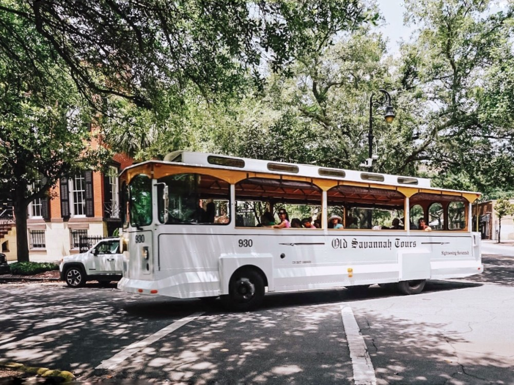 Historic Trolley Tours are a great way to see the city.