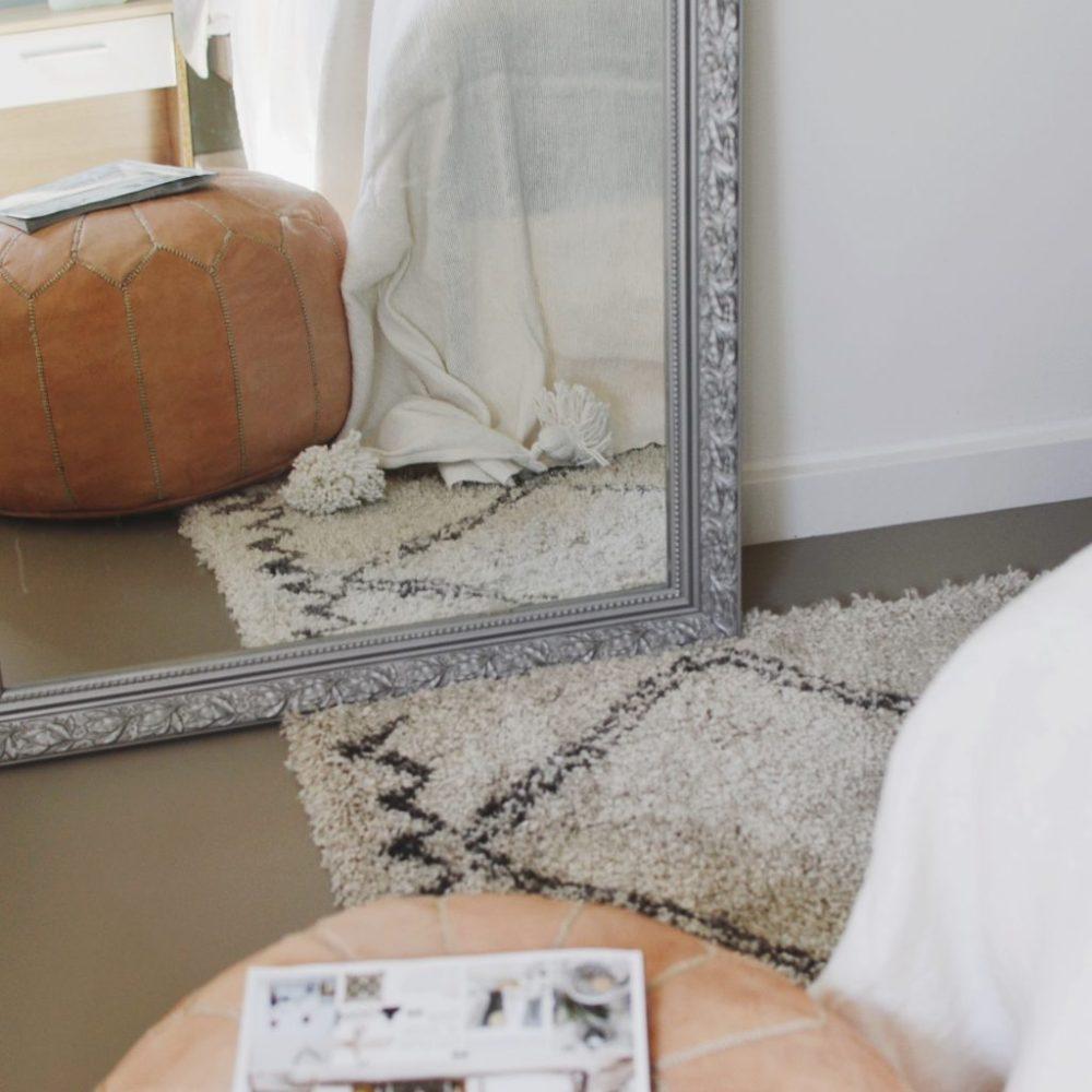 spiegel vloerkleed karwei