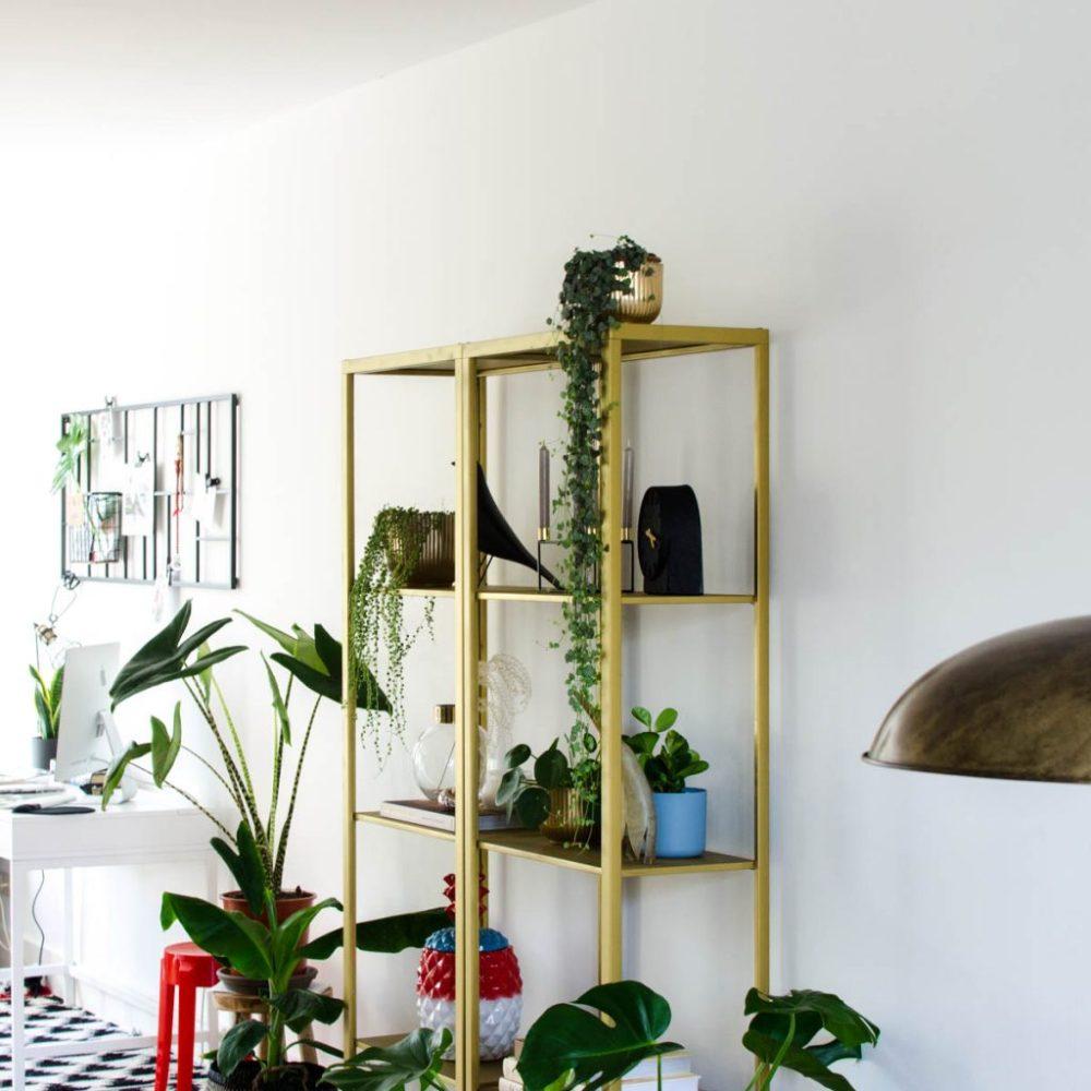 Ikea Vittsjö goud